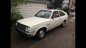 1980 Pontiac Acadian chevette in amazing shape low Km