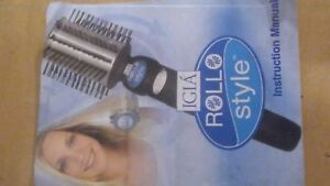 Hair rolling styler  ( cordless )