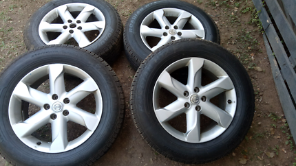 Nissan Murano rims and tyres