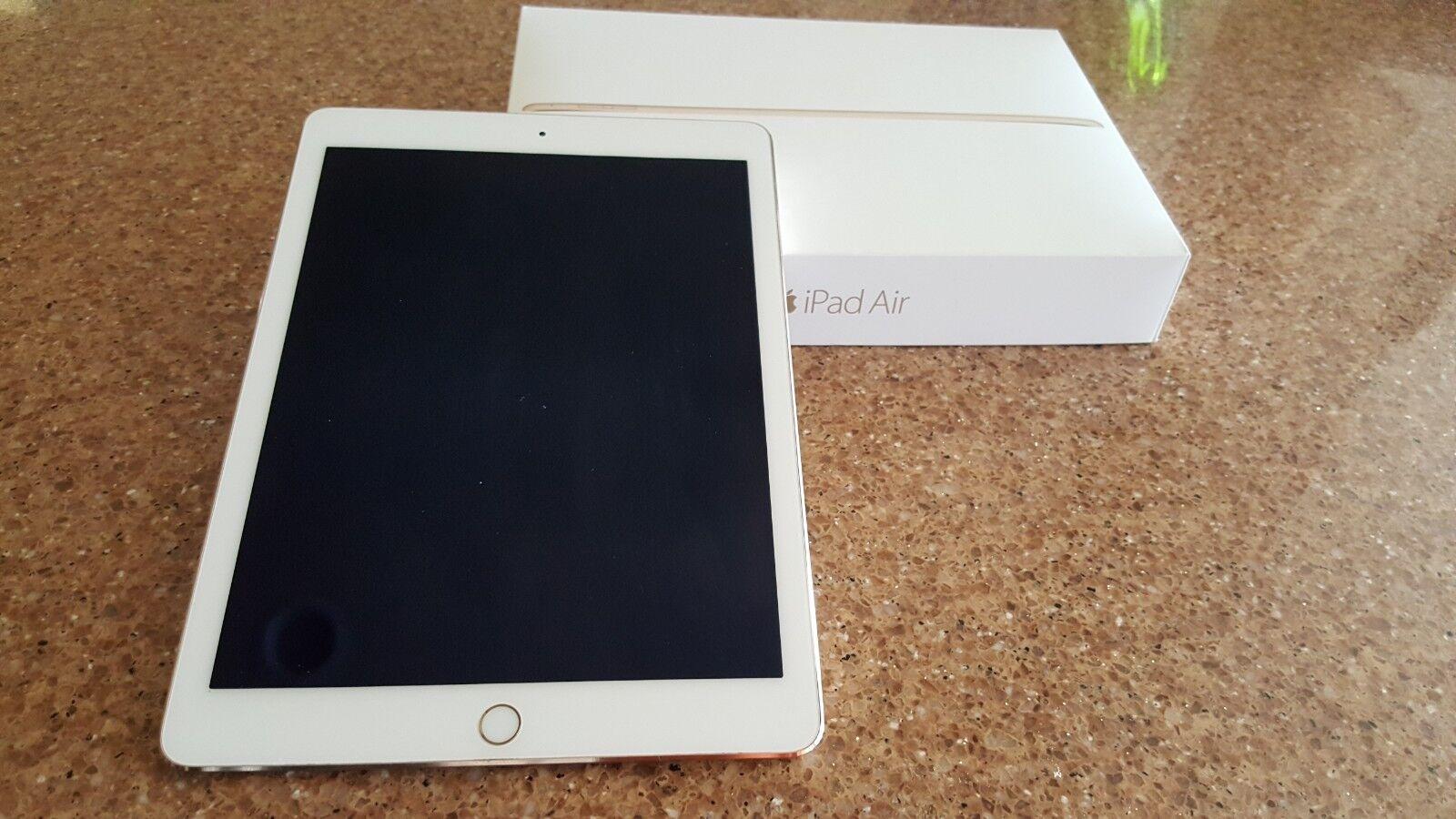 Apple iPad Air 2 32GB, Wi-Fi, 9.7in - Gold