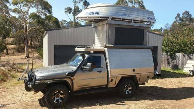 2006 Coil Cab Nissan Patrol Td42 St Ultimate Camping