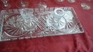 Pinweel tray and candle holders