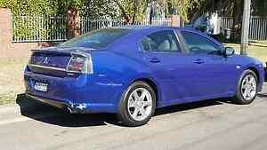 2006 Mitsubishi 380 VRX Blue, Beige Leather+Alloy WHEELS CHEAP Parramatta Parramatta Area Preview