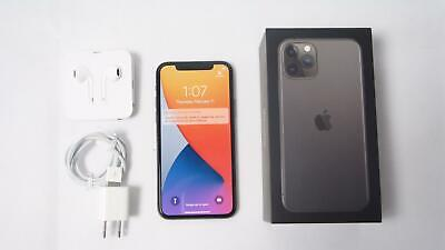 Apple iPhone 11 Pro 256GB Space Gray A2160 MWAT2LL/A Unlocked Clean ESN with Box