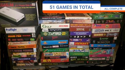 HUGE AMIGA GAMES BUNDLE