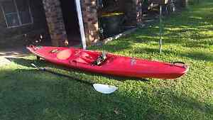 Ozflyte enduro xtr kayak/surf ski with carbon fibre paddle Coorparoo Brisbane South East Preview