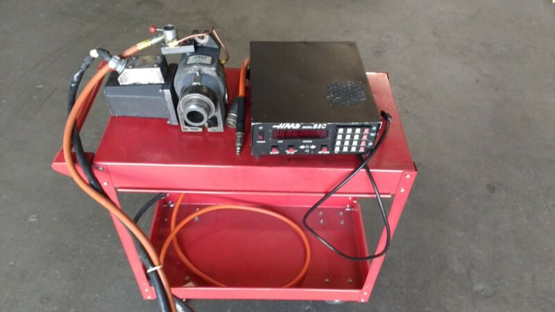 HAAS 4th axis rotary indexer with air lock and HAAS S5C controller