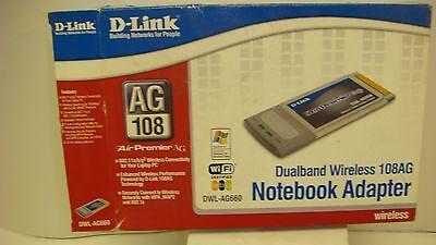 Usado, D-LINK DUAL BAND DWL-AG660 WIRELESS LAPTOP ADAPTER comprar usado  Enviando para Brazil