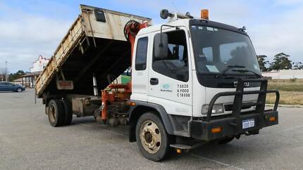 Isuzu Crane & tipper Truck Maddington Gosnells Area Preview
