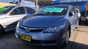 2007 Honda Civic VTi ! Serviced & Inspected ! Auto ! Long Rego !  Granville Parramatta Area Preview