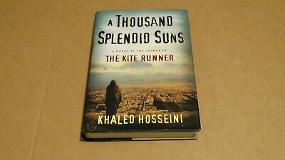 A Thousand Splendid Suns by Khaled Hosseini (20071st Edition Hardcover Book)