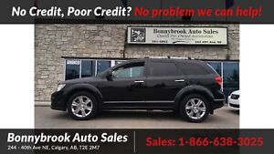 2012 Dodge Journey R/T awd leather rearview camera sunroof