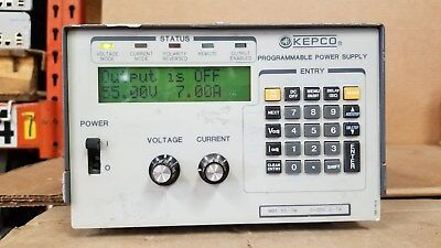 Kepco Mbt55-7m Programmable Power Supply 0-55v 0-7a Good