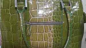 Green patterned glossy bag Wagga Wagga Wagga Wagga City Preview