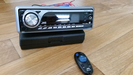 Jvc head unit CD receiver