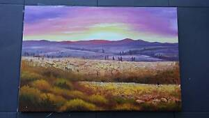 Canvas oil paintings Bertram Kwinana Area Preview