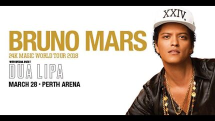 Bruno Mars x 1 GA ticket for Weds 28th March 18