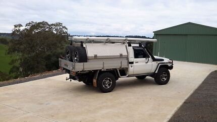 Ute canopy toyota 79 series hilux dual wheel carrier  Lonsdale Morphett Vale Area Preview