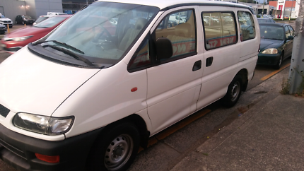 Mitsubishi van Automatic low kms ideal for tradie or camper