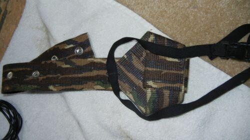 Bow holder, compact binoculars sportsmans package