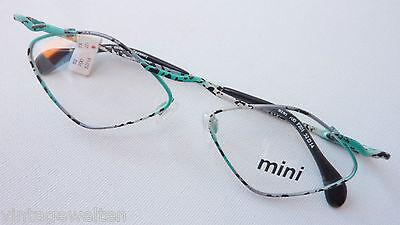 Brillen-Gestell Brillenfassung neu ausgefallen eckig bunt kleine Gläser Grösse M