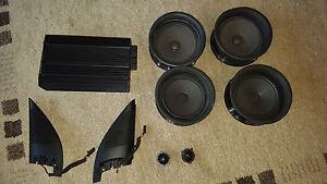VW DSP Soundsystem Golf 4 Bora Original Nokia Boxen Verstärker Musikanlage R32