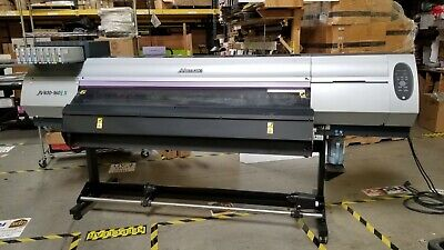 Used Mimaki Jv400-160lx 64 Latex Printer