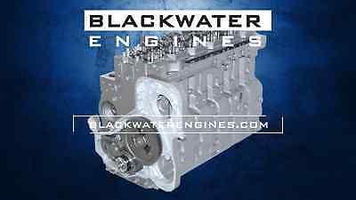8.3L 24v Cummins CAPS II Long Block Engine Common Rail Fuel System ISC/QSC