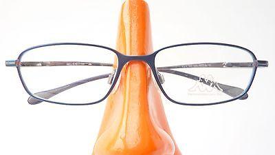 Brille mit kleiner Größe Kinder Gestell Unisex Metall Rahmen blau stabil Gr S