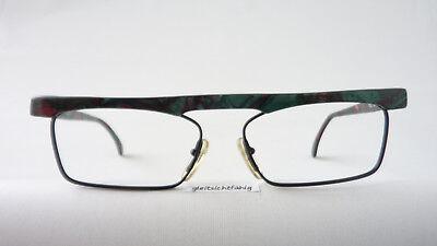 Kleidung & Accessoires Brille Extrem Gestell Kunststoff Rand Rund Schwarz Silber Luxusmarke Idc Size M Sonnenbrillen