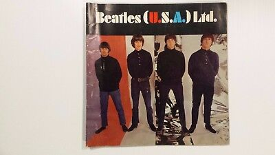 BEATLES USA LTD.1966 TOUR CONCERT PROGRAM BOOK /LENNON/McCARTNEY/STARR/HARRISON