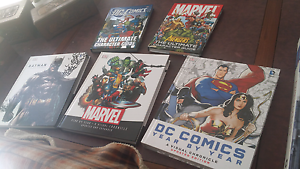 Marvel/DC Visual History Book Collection Fortitude Valley Brisbane North East Preview