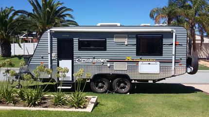 2013 Crusader x country 18.6ft off road van
