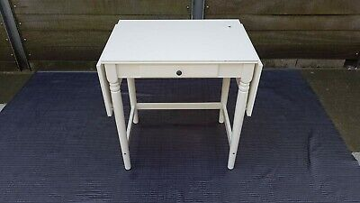 White Ikea ingatorp desk