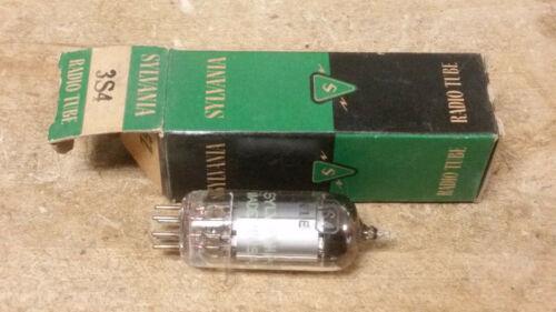 New Unused Sylvania 3S4 f/ Old Vintage Ham Radio Tube Battery Portable Receiver