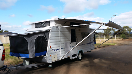 Windsor rapid pop top caravan