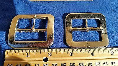 "2..Quality North & Judd 1 1/2"" Inch MAL/BUCKLES with keeper, a non-Roller buckle"