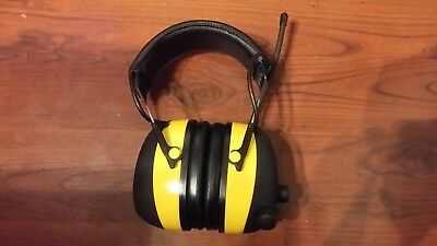 3m Peltor Worktunes Amfmmp3 Digital Earmuffs Headset Headphones Radio