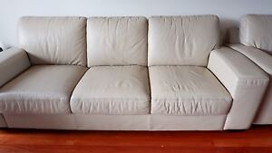 Premium Quality Leather Sofa (3seater+2seater) Lilyfield Leichhardt Area Preview