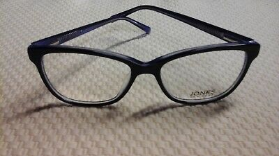JONES NEW YORK Eyeglasses Eye Glass Glasses Frames  J764 Navy 54M VAU