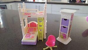 Fisher Price Dolls House Bunk Bed and Study Set Morphett Vale Morphett Vale Area Preview