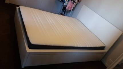 MOVING SALE! Bed Mattress Table Computer Desk & Chair and Monitor Camperdown Inner Sydney Preview