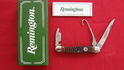 VINTAGE REMINGTON UMC R-1 BIRD KNIFE WITH GUN CHOKE,BOX,MADE IN USA