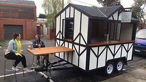 Custom Built Mobile Bar & Food Truck for sale. St Kilda West Port Phillip Preview