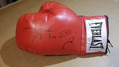 "Floyd Mayweather Jr ""Money"" Autographed Signed Everlast Boxing Glove - FREE SHIP"
