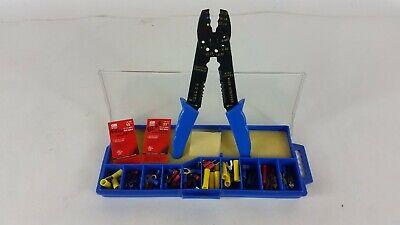 New Gardner Bender Multi-tool Electrical Crimper Stripper Butt Splice Kit