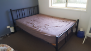 Double bed and mattress Merrimac Gold Coast City Preview