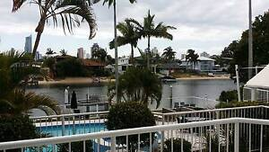 Air Conditioned fully furnished stylish WATERFRONT Apartment Broadbeach Waters Gold Coast City Preview