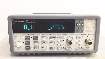 Hpagilent 53132a Opt010 Universal Frequency Counter