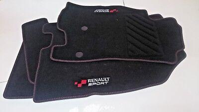 4 Alfombrillas Originales Renault Megane 3 y Fluence Sport RS Edition